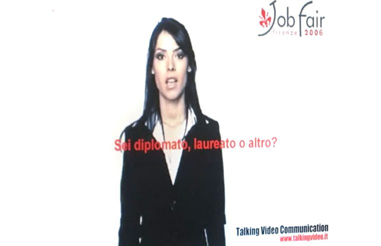 Il mio assistente virtuale al Job Fair Firenze 2006 | My virtual assistant at Job Fair Florence 2006