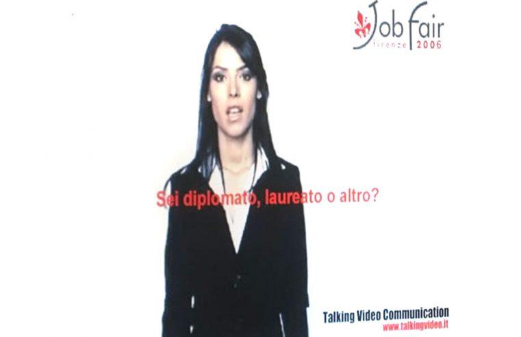 Il mio assistente virtuale al Job Fair Firenze 2006 | My virtual assistant at Job Fair Florence 2006