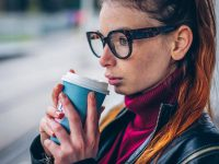 Maja coffee and glasses