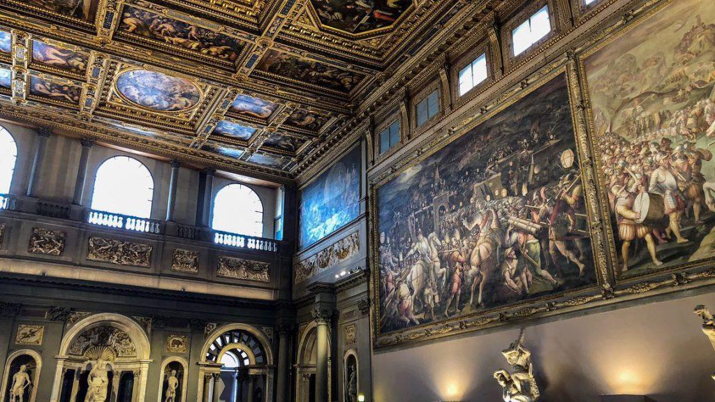 Salone dei Cinquecento - Palazzo Vecchio - Firenze