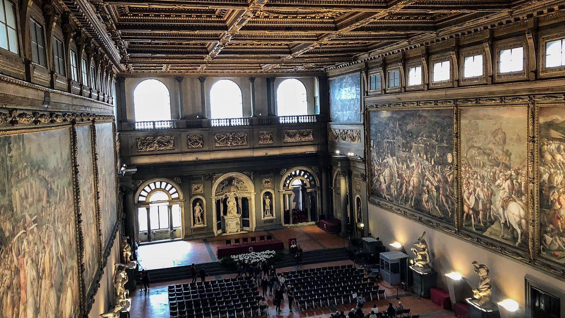 Salone dei Cinquecento – Palazzo Vecchio – Firenze