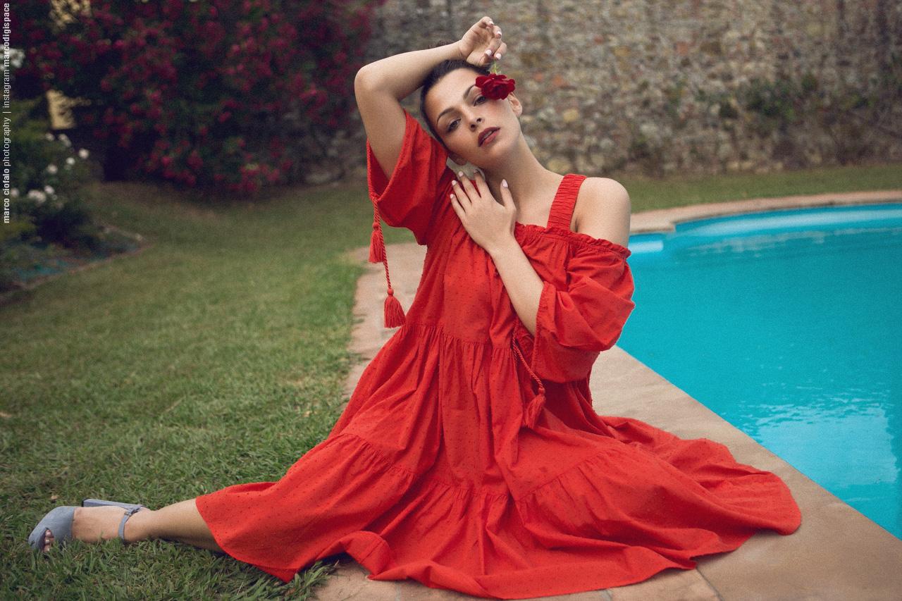 Arianna Red Dress