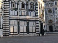 Firenze incredibilmente deserta! Piazza Duomo.