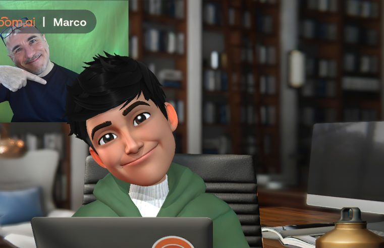 Il tuo avatar 3D personale per la chat video