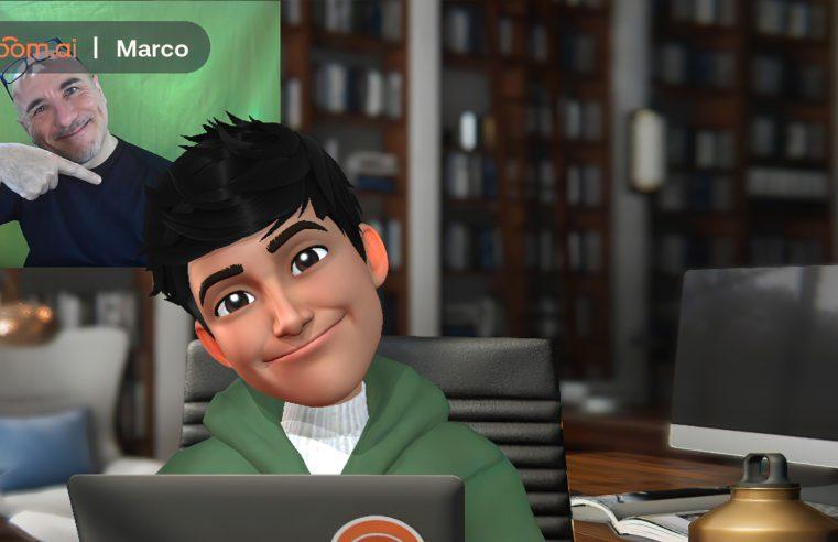 Il tuo avatar 3D personale per la chat video